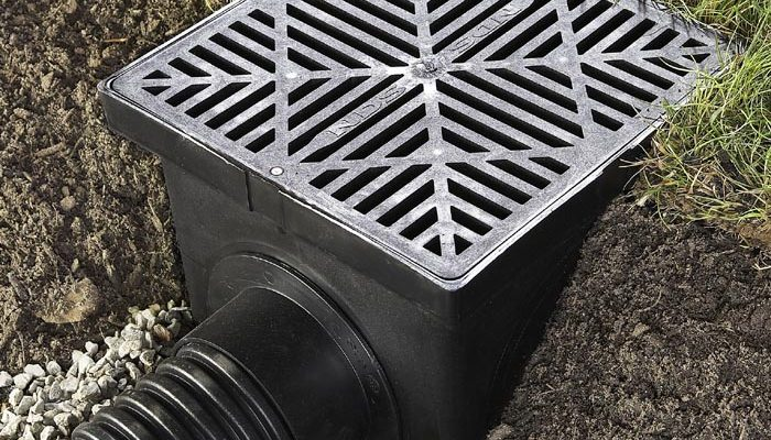 Box Drains Landscape Drainage : Drainage options for your landscape pool and