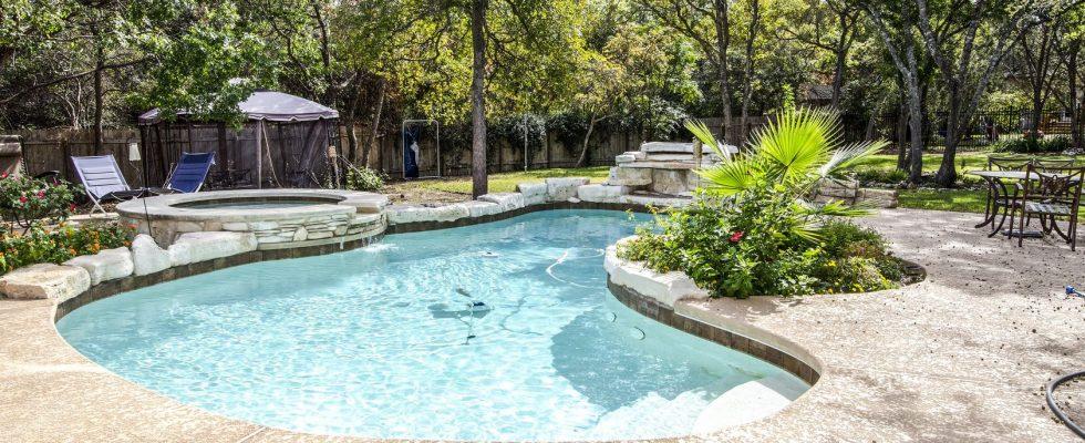 Upacale Backyard Swimming, Landscaping, Pool Landscaping, Landscaping Tips Pool